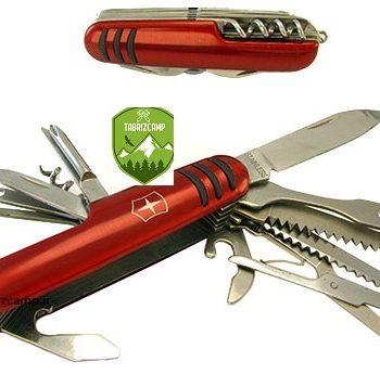 چاقو و ابزار چندکاره سویسی tabrizcamp