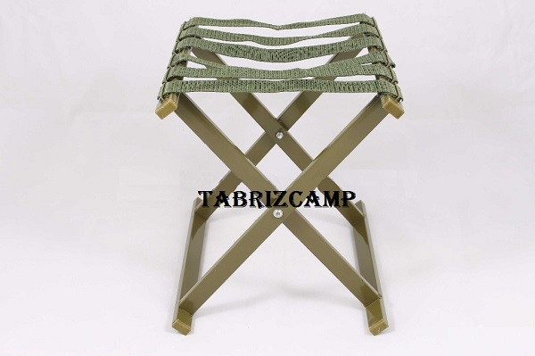 صندلی تاشو مسافرتی سبز رنگ درجه یک
