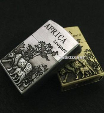 فندک گازی سنگی مدل ببر AFRICA Leopard