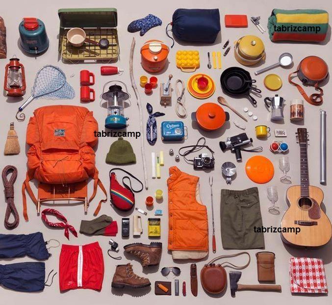 لیست لوازم و وسایل مورد نیاز سفر و طبیعت گردی