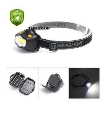چراغ پیشانی کوهنوردی COB LED