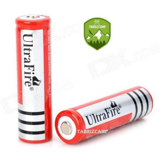 باطری شارژی چراغ قوه UltraFire XY18650