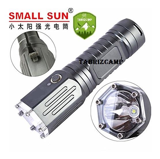 چراغ قوه اسمال سان مدل Small Sun zy-t49