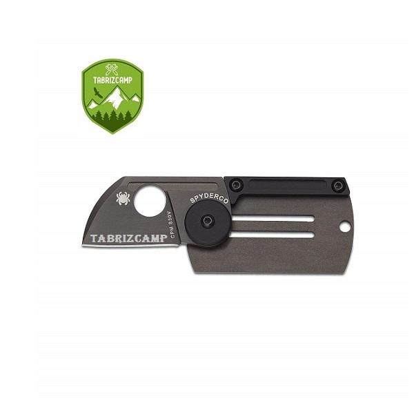 چاقو تاکتیکال جاکلیدی مدل SPYDERCO S30V