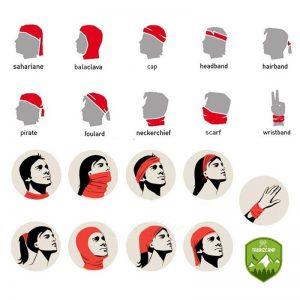 دستمال سر و گردن کوهنوردی