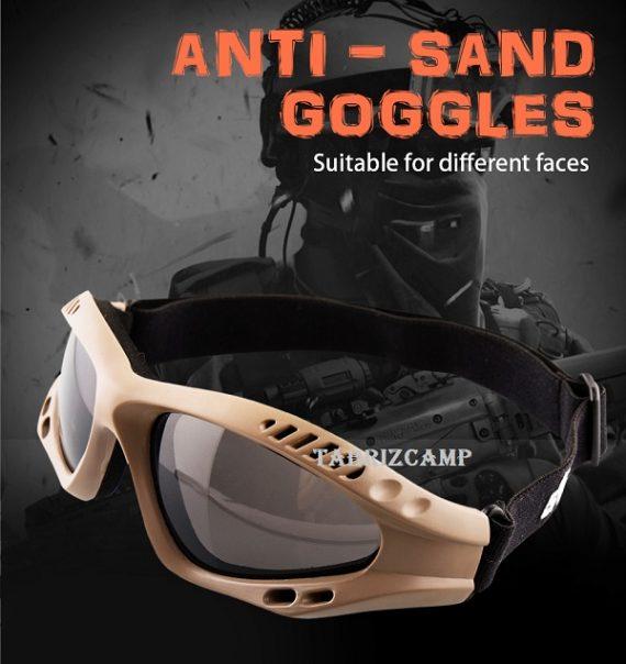 عینک تاکتیکال طوفان Rothco Ventec