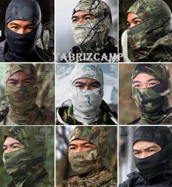 کلاه و دستمال گردن نظامی تاکتیکال استتاری