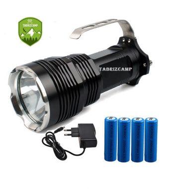 چراغ قوه پلیسی 4 باطری با لامپ T6