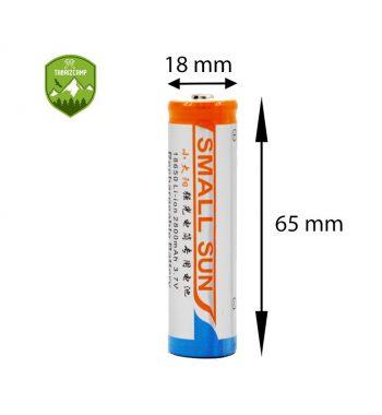خريد باتری قابل شارژ اسمال سان مدل 18650